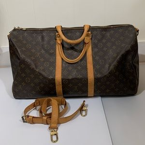 Louis Vuitton Keepall 55 Bandouliere preowned